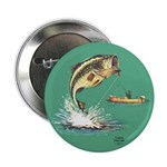 """""""A Great Catch"""" 2.25"""" Button (100 pack)"""