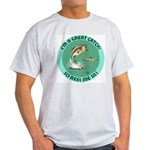 """A Great Catch"" Ash Grey T-Shirt"