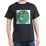 """A Great Catch"" Black T-Shirt"