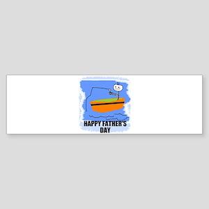 HAPPY FATHER'S DAY Bumper Sticker