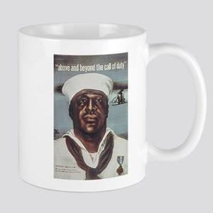 Black Servicemen Above & Beyond Mug