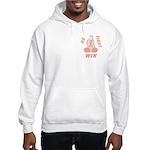 Peach WIN Ribbon Hooded Sweatshirt