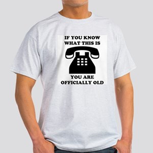 You Are Officially Old Light T-Shirt