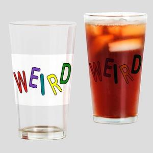 REALLY WEIRD Drinking Glass
