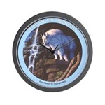 """""""King of the Mountain"""" Wall Clock"""