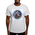 """King of the Mountain"" Ash Grey T-Shirt"
