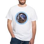"""King of the Mountain"" White T-Shirt"