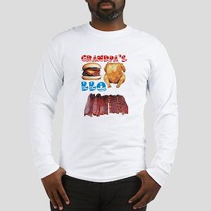 Grandpa's BBQ Long Sleeve T-Shirt