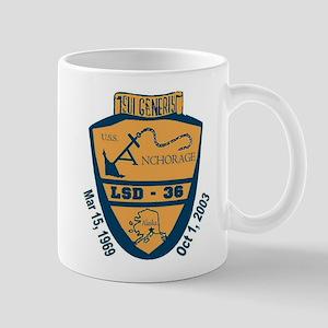 USS Anchorage Decomm Mug