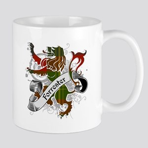 Forrester Tartan Lion Mug