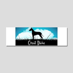 Nightsky Great Dane Car Magnet 10 x 3