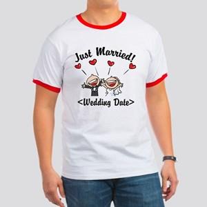 Just Married (Add Your Wedding Date) Ringer T