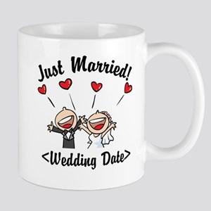 Just Married (Add Your Wedding Date) Mug