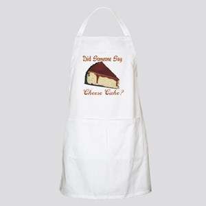 Someone Say Cheesecake Apron