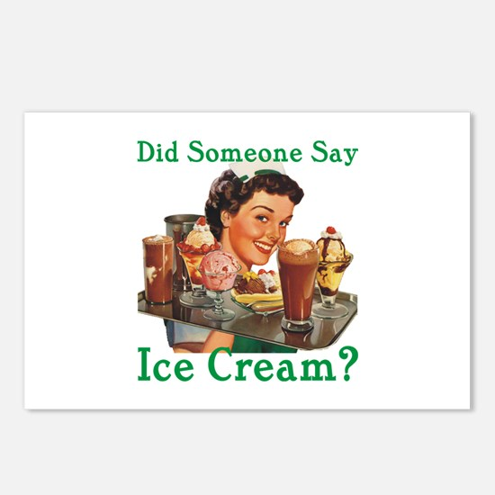 Someone Say Ice Cream Postcards (Package of 8)