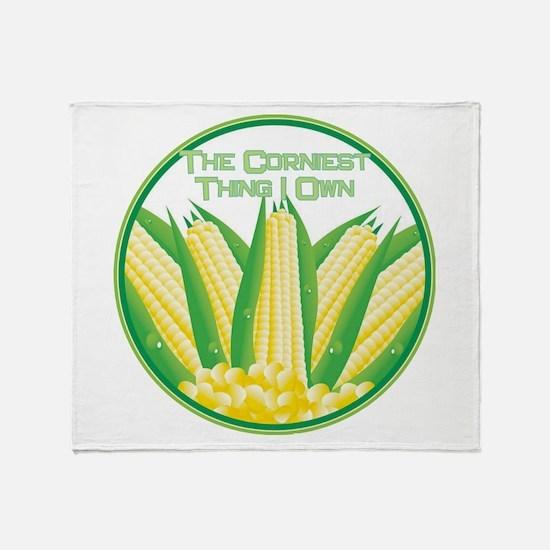 Corniest Thing Throw Blanket