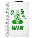 Green WIN Ribbon Journal