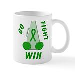 Green WIN Ribbon Mug