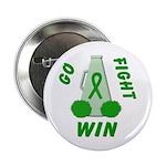 Green WIN Ribbon Button