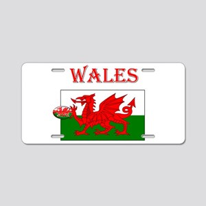 Wales Rugby Aluminum License Plate