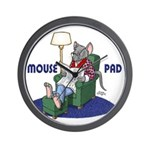 """A Mouse Pad"" Wall Clock"