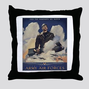 Ramparts We Watch Throw Pillow
