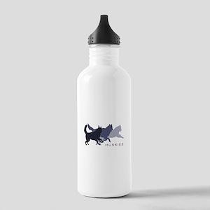 Running Huskies Stainless Water Bottle 1.0L