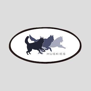 Running Huskies Patches