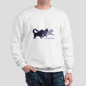 Running Huskies Sweatshirt