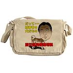 Tax dog Messenger Bag