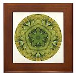 Banana Mandala Framed Tile