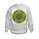 Banana Mandala Kids Sweatshirt