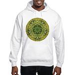 Banana Mandala Hooded Sweatshirt
