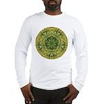 Banana Mandala Long Sleeve T-Shirt