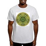 Banana Mandala Ash Grey T-Shirt