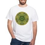 Banana Mandala White T-Shirt