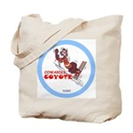 """Cowardly Coyote"" Tote Bag"