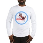 """Cowardly Coyote"" Long Sleeve T-Shirt"