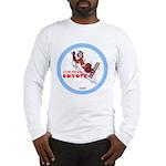"""Cowardly Coyote"" Long Sleeve T-Shirt"