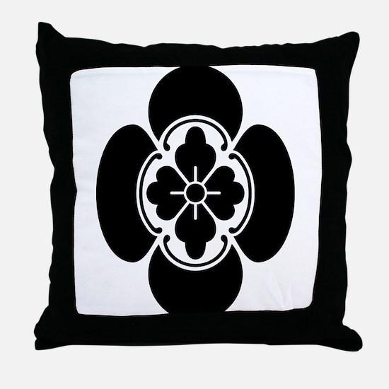 Tate mokko Throw Pillow