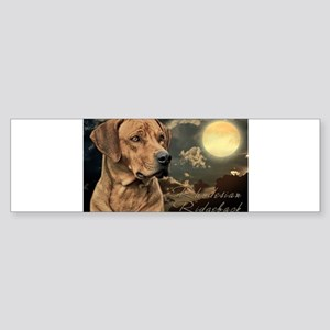 Moonlit Ridgeback Sticker (Bumper)