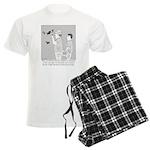 Cave Drawings Men's Light Pajamas