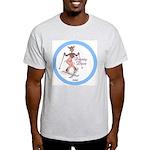 """Dainty Dear"" Ash Grey T-Shirt"