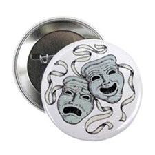 Vintage Comedy Tragedy Mask 2.25