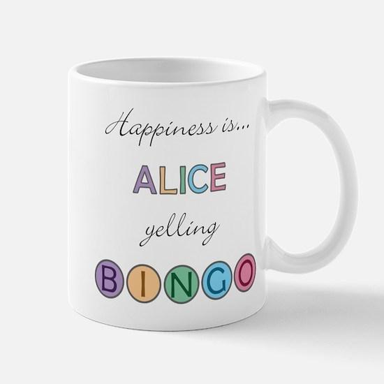 Alice BINGO Mug