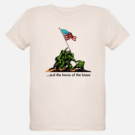 and the home of the brave T-Shirt