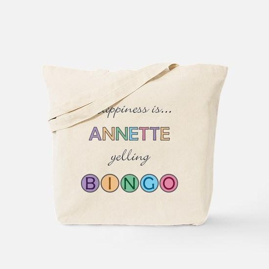 Annette BINGO Tote Bag