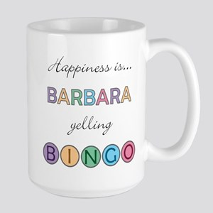Barbara BINGO Large Mug