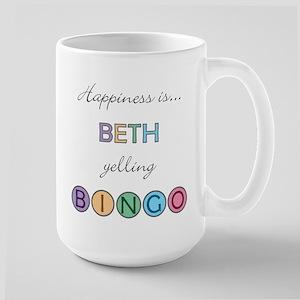 Beth BINGO Large Mug