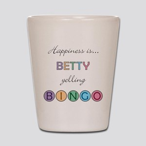 Betty BINGO Shot Glass